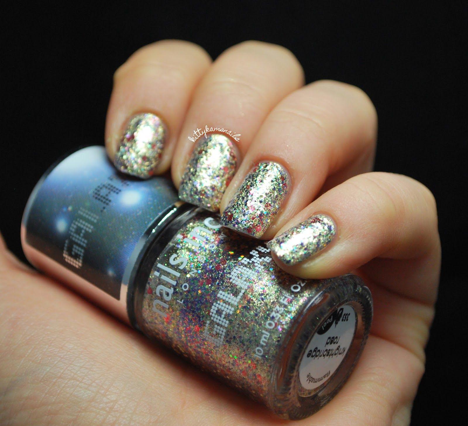 Nails Inc Galaxy - Knightsbridge Road   My nail polish collection ...
