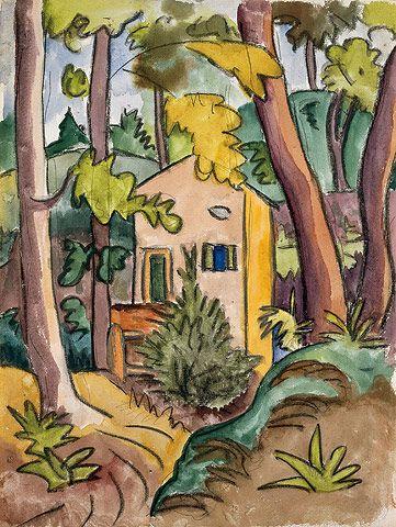 Hermann Hesse Grotto Im Wald 1924 Hermann Hesse Art Artwork