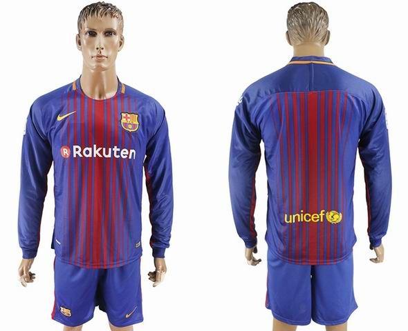 newest 013f0 452d1 barcelona long sleeve jersey 2018