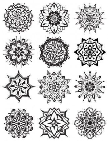 Mandala Coloring Pages | Mandalas, Mandala para colorear y Tatuajes