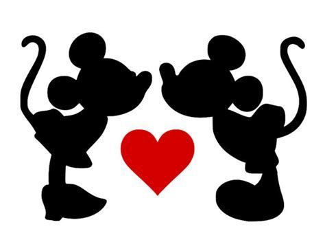 Download Image result for Minnie and Mickey Free SVG | Mickey and ...
