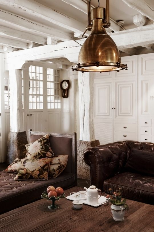Living Room Design Online Magnificent Brown Living Room 3  Steampunk Interiores  Pinterest  Online Review
