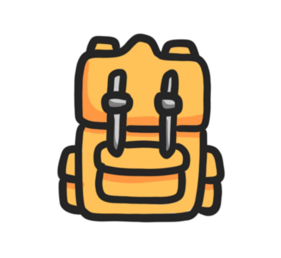 Travel Or School Bag Available In A School Themed Icon Pack In My Etsy Shop School Icon Etsy School Bags