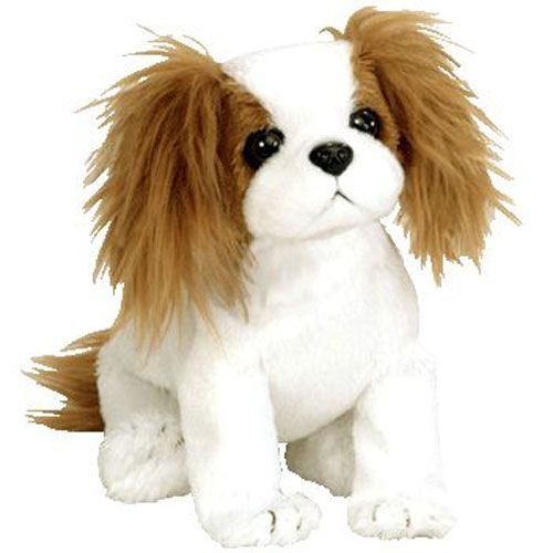 Ty Beanie Baby Regal The King Charles Spaniel Dog 6 Inch