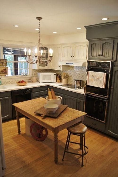 painting kitchen cabinets | paint colors | Pinterest | Cocinas