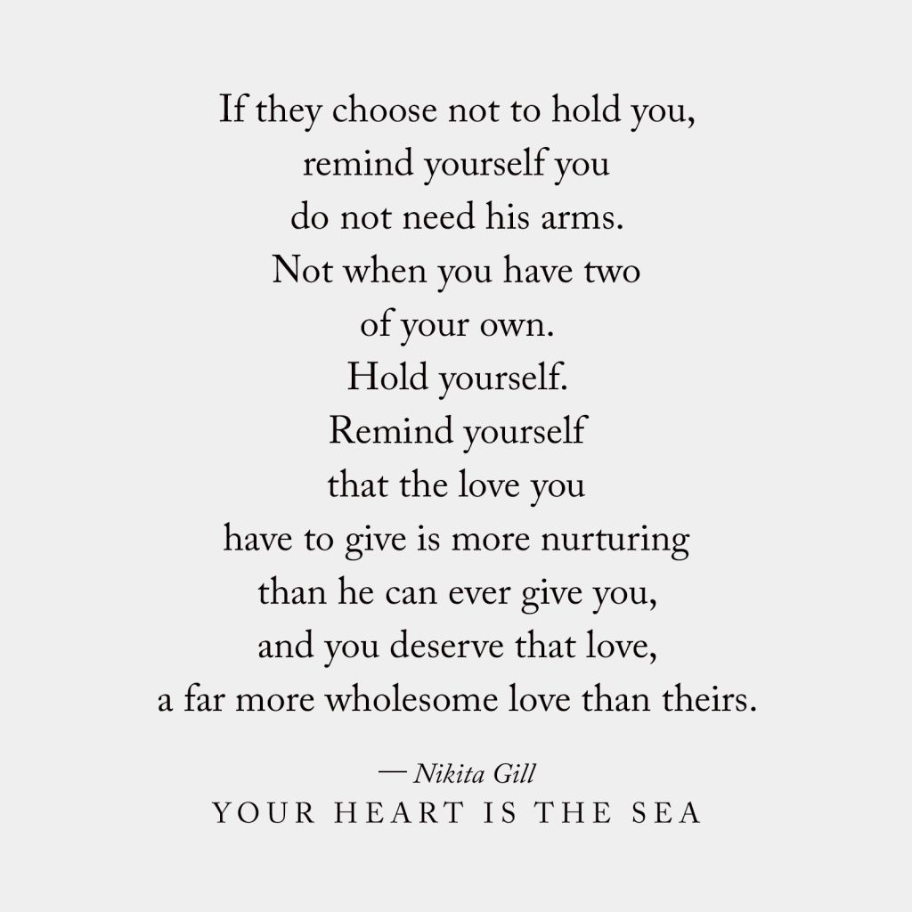 Your Heart Is The Sea, a Book by Nikita Gill | Shop Catalog