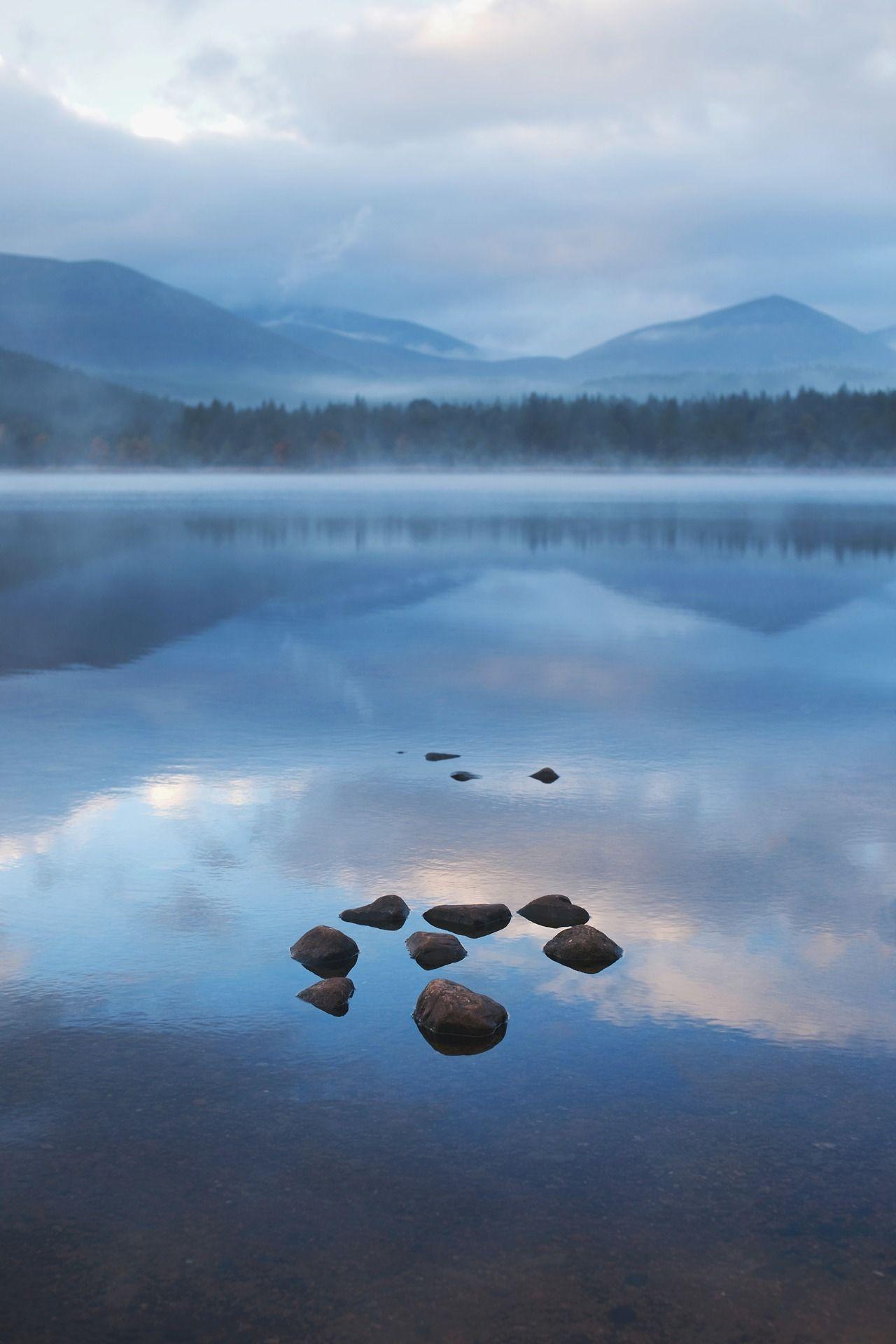 Loch Morlich By Kyle Bonallo Loch Scotland Lake Reflection Nature Landscape Scenic Pictures Scenery Pictures Scotland Nature
