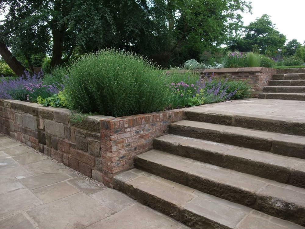 Flagstone Patio Extension