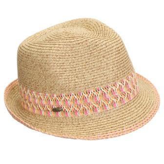 f3ea547f0 UPF50+ Adjustable Multicolor Woven Pattern Short Brim Fedora Hat ...