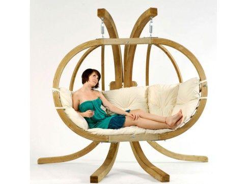 Amazonas Hängeschaukel Globo Chair Royal AZ-2030850 - Grau