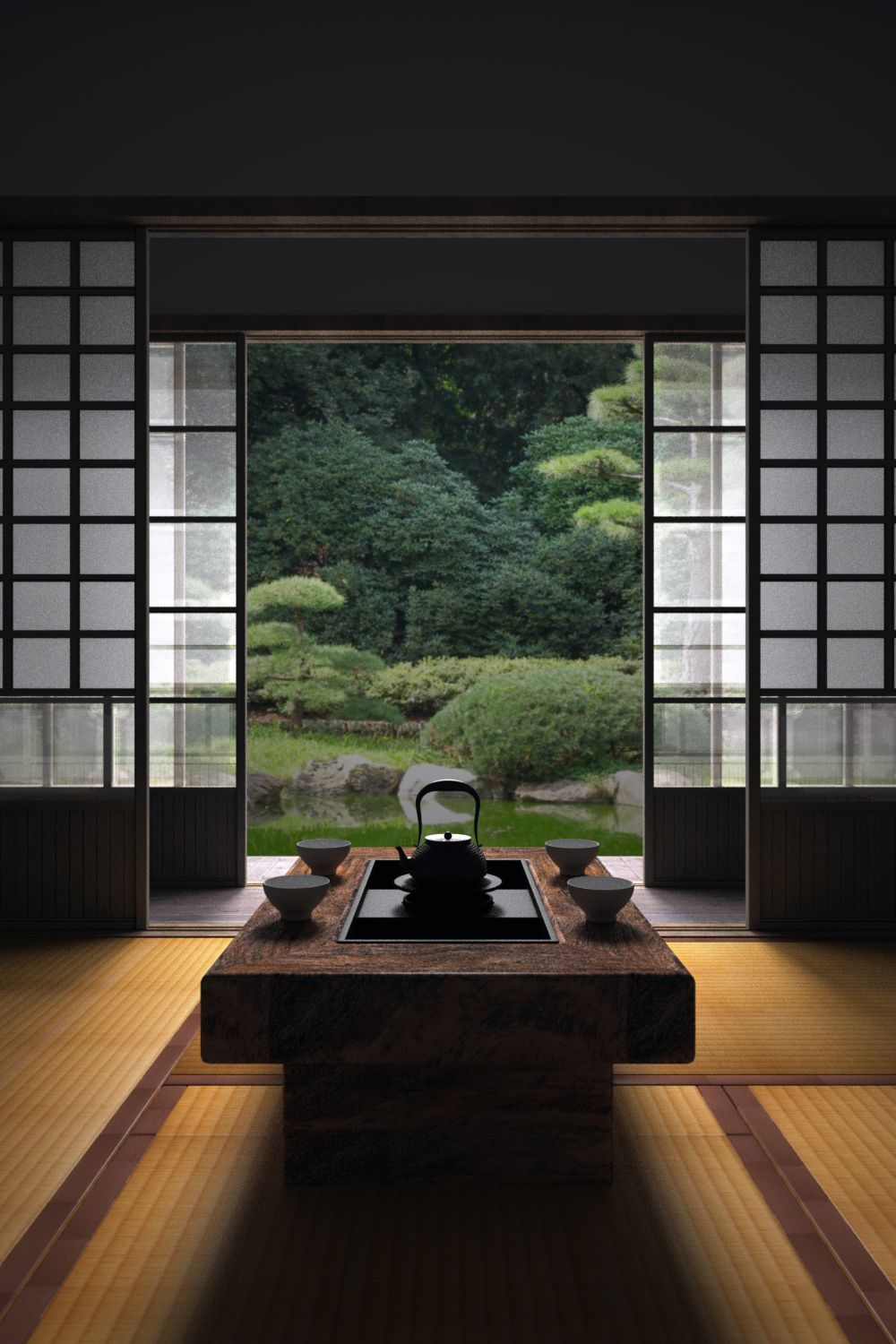 This Is How You Can Create A Japanese Style House 발리 집 집 아름다운 집
