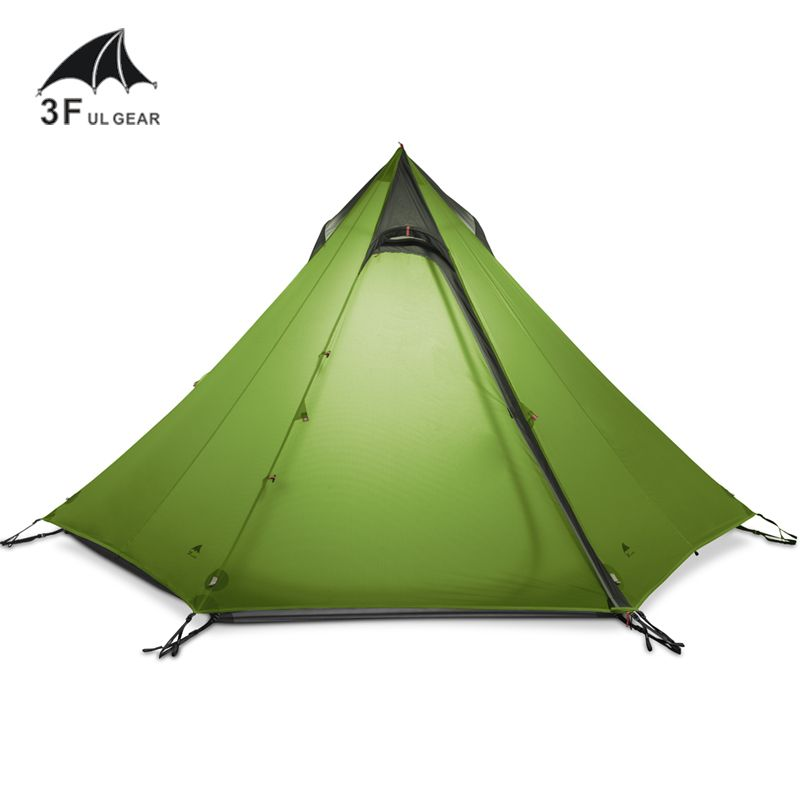 Compare Price 3F UL GEAR Ultralight Outdoor C&ing Teepee 15D Silnylon Pyramid Tent 2-3 Person Large Tent Waterproof Backpacking Hiking Tents #GEAR ...  sc 1 st  Pinterest & Compare Price 3F UL GEAR Ultralight Outdoor Camping Teepee 15D ...