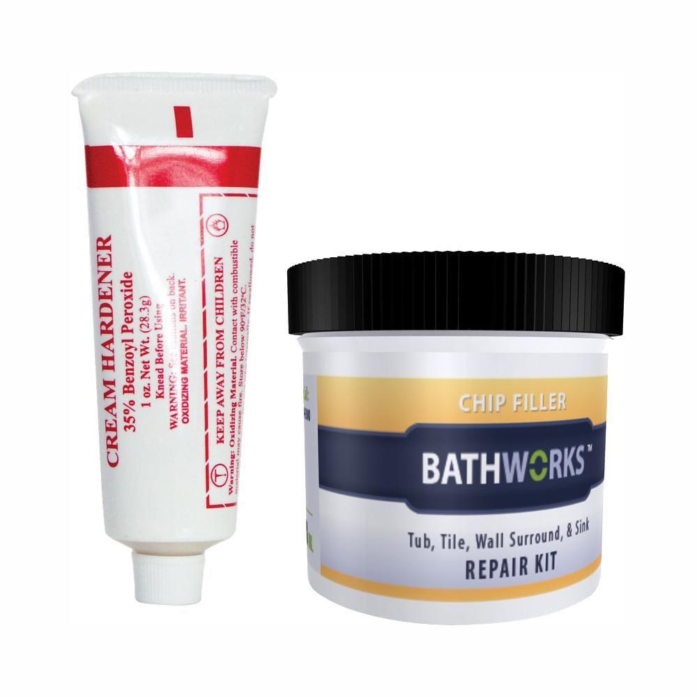 Bathworks 3 Oz Diy Bathtub And Tile Chip Repair Kit 10 Pack Crc