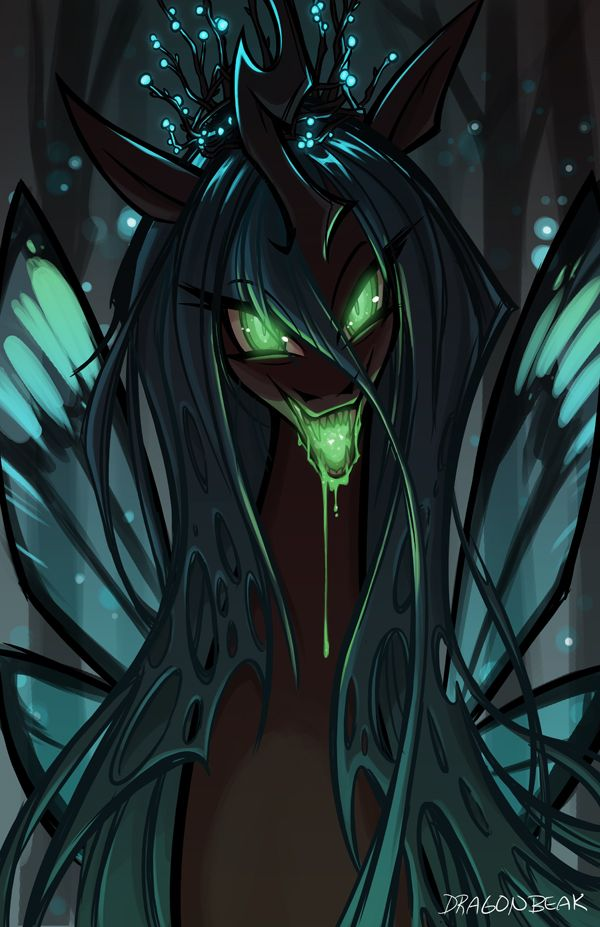 Chrysalis - Eat Your Heart Out by DragonBeak on DeviantArt