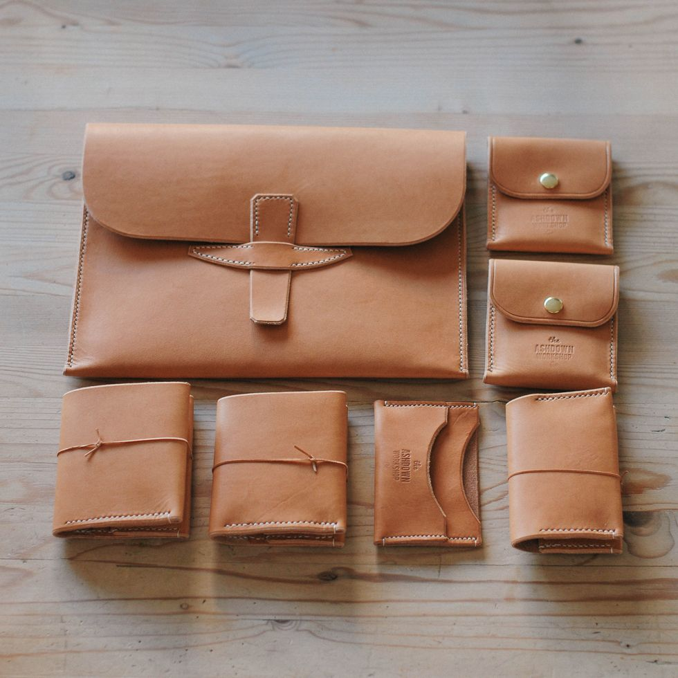 Veg tanned leather goods from the UK The Ashdown