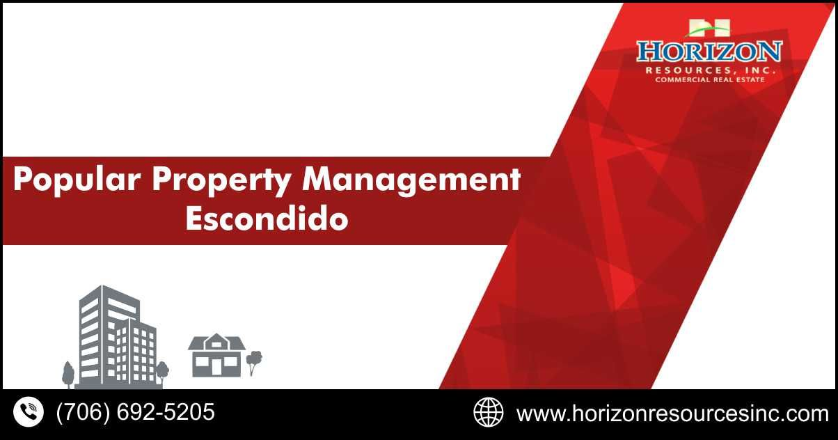 Popular Property Management Escondido California Horizon Resources Inc Property Management Escondido Management Company