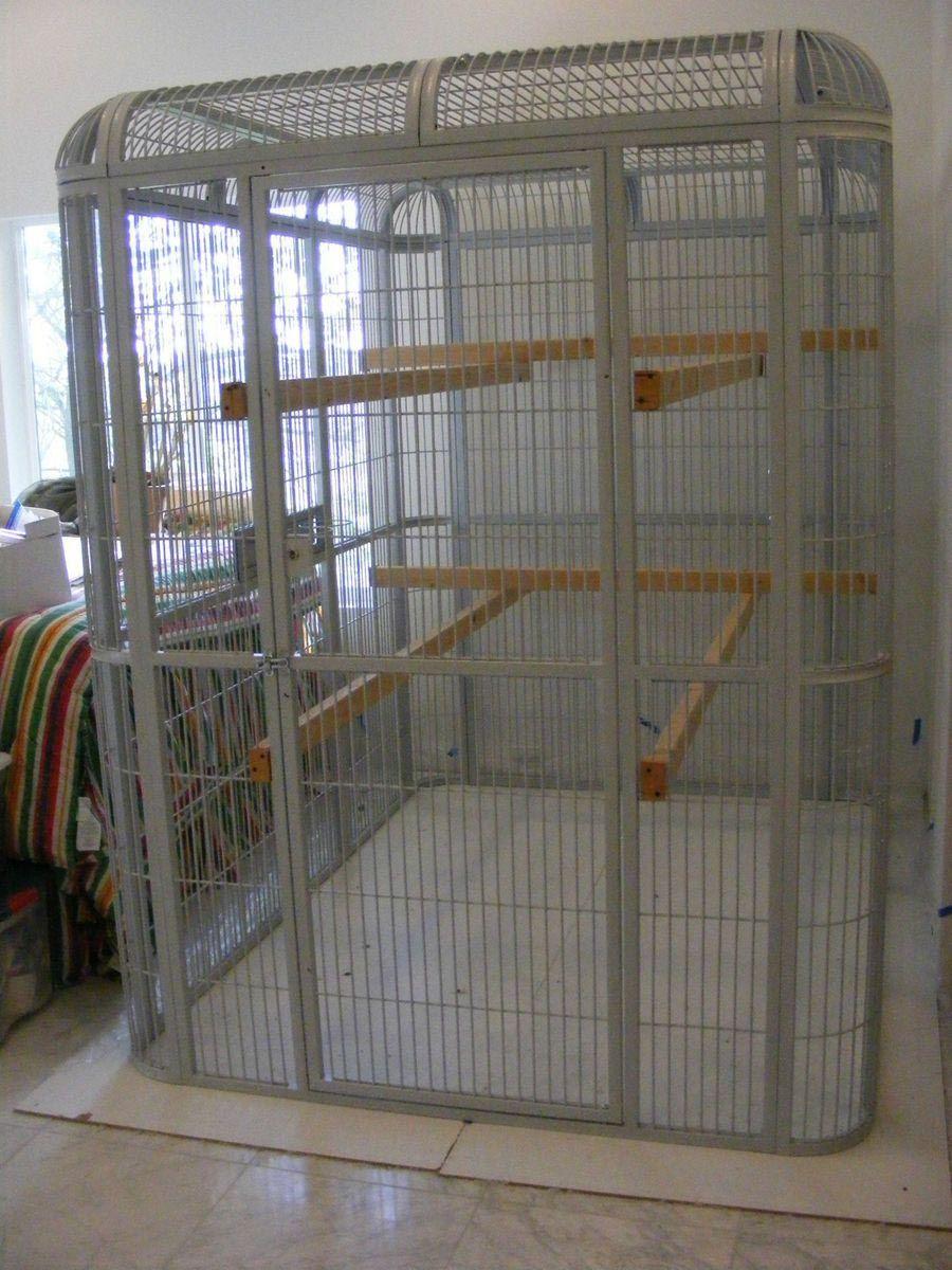 Walk in Aviary Bird Cage | Bird Aviary | Pinterest | Bird cages ...