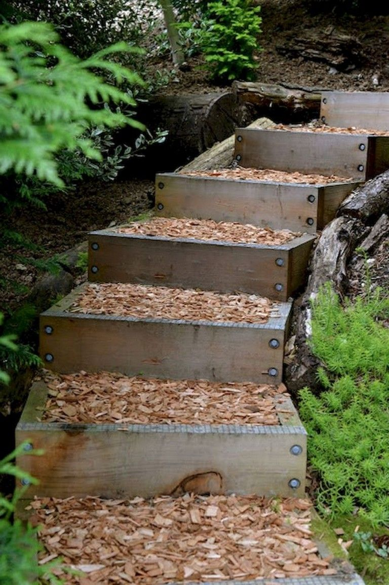 33 Beauty And Affordable Wooden Garden Path Ideas Garden