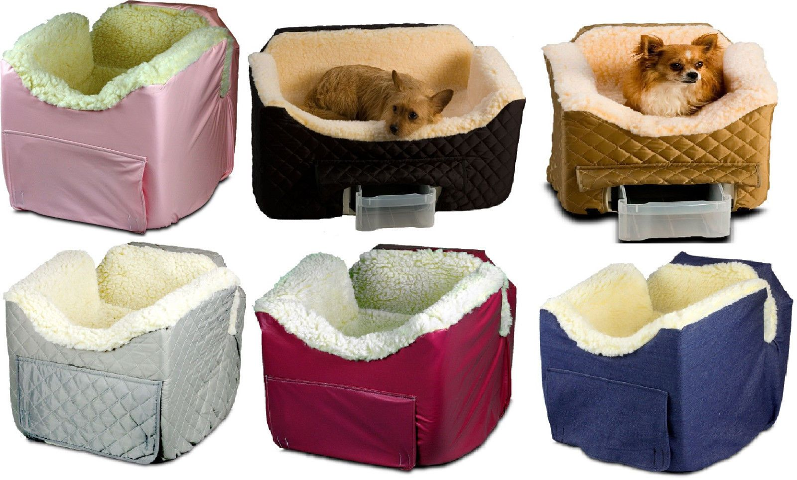 Car seats and barriers dog booster car seat pet carrier bag