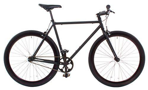 Vilano Rampage Fixed Gear Fixie Single Speed Road Bike, Matte Black, Large/58cm http://coolbike.us/product/vilano-rampage-fixed-gear-fixie-single-speed-road-bike-matte-black-large58cm/