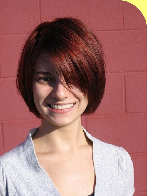 Trendy Medium Short Hairstyles With Color Medium Hairstyles For