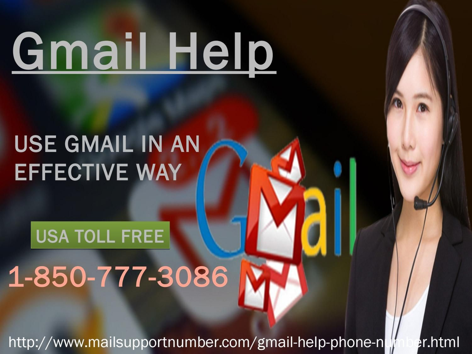 GmailHelp 18507773086 the best way to connect with