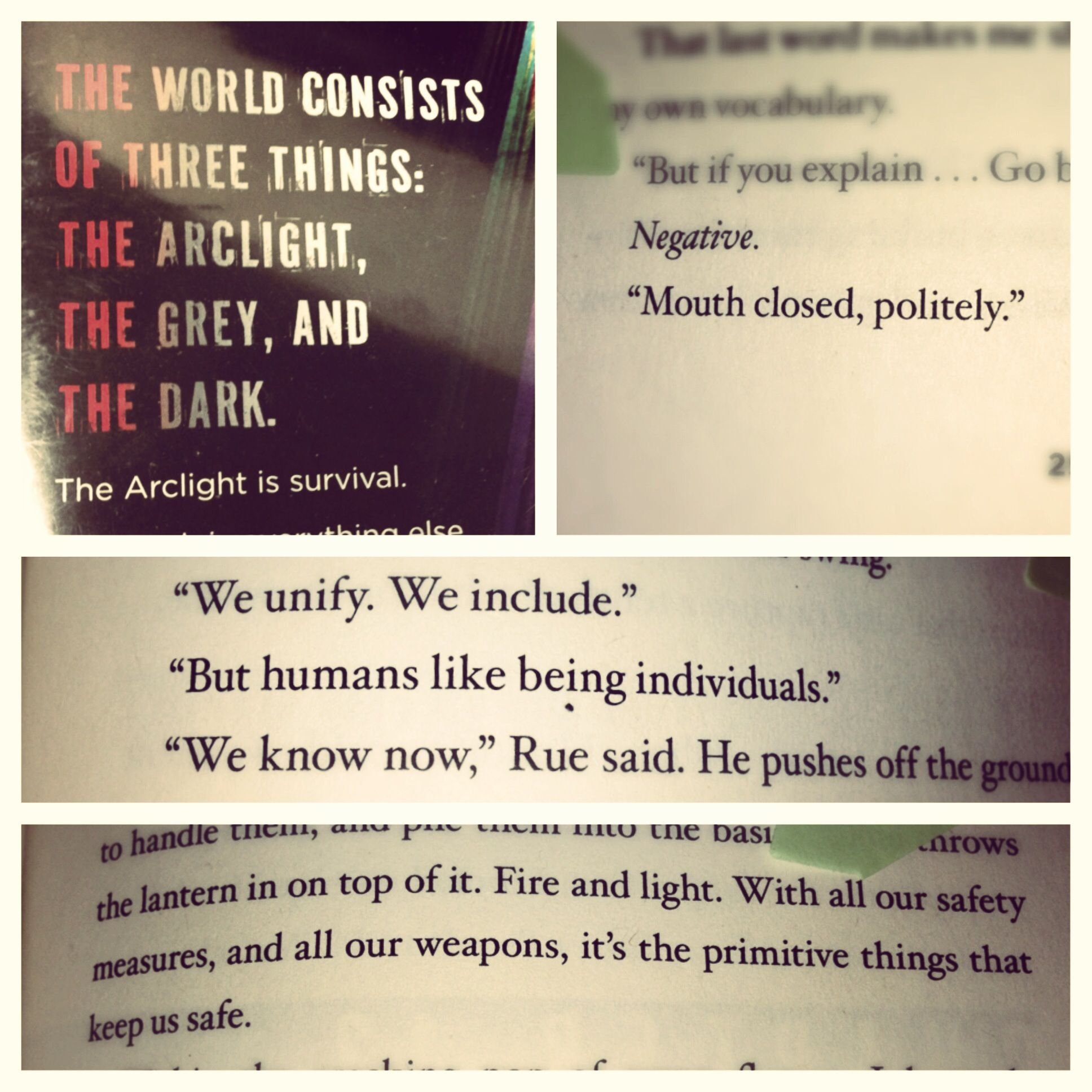 Favorite Quotes From Arclight By Josin L Mcquein