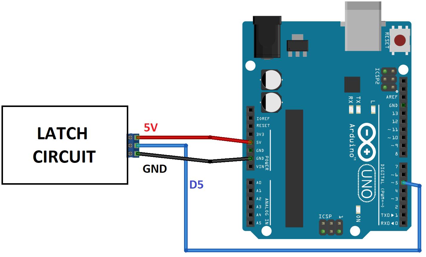 power latch circuit schematics arduino [ 1428 x 860 Pixel ]