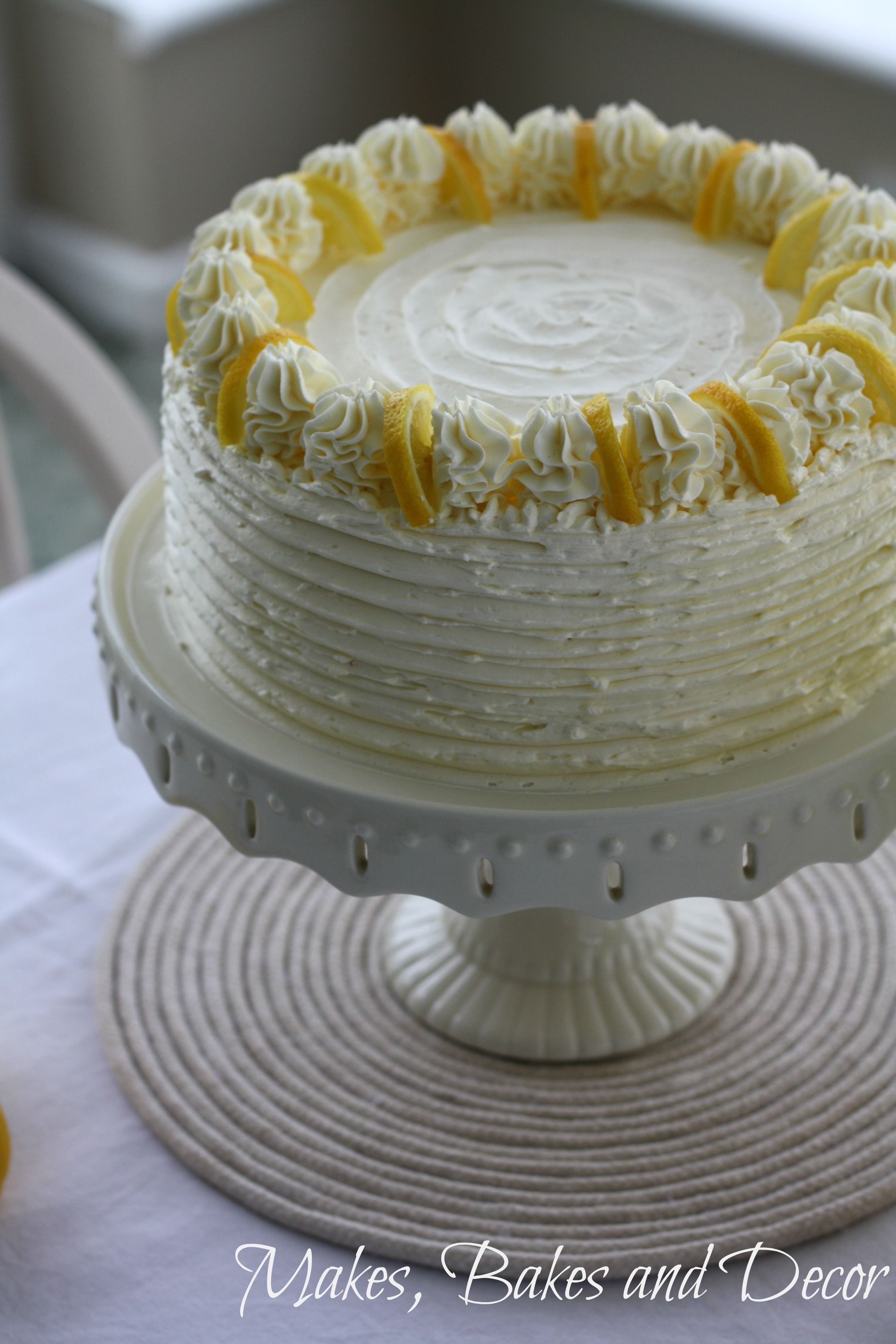 Lemon Drizzle Layer Cake Recipe Cake Savoury Cake Lemon