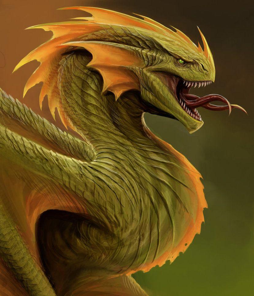 Картинки с драконом зеленым