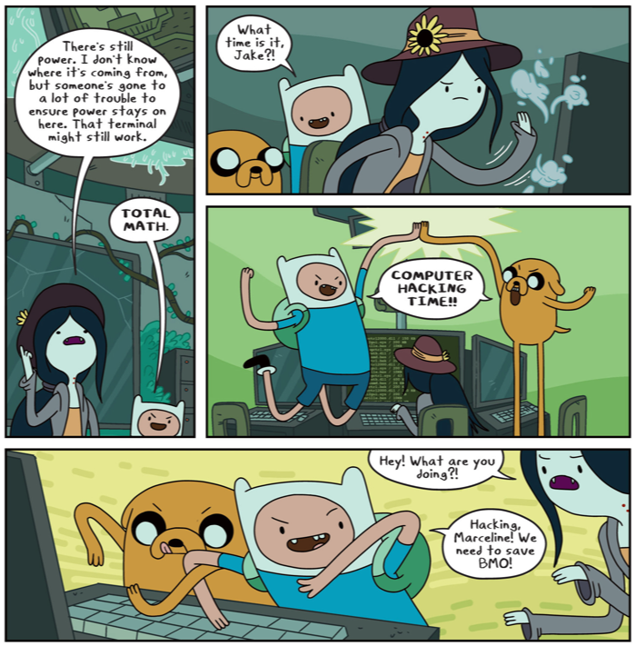 Adventure Time Comic 13