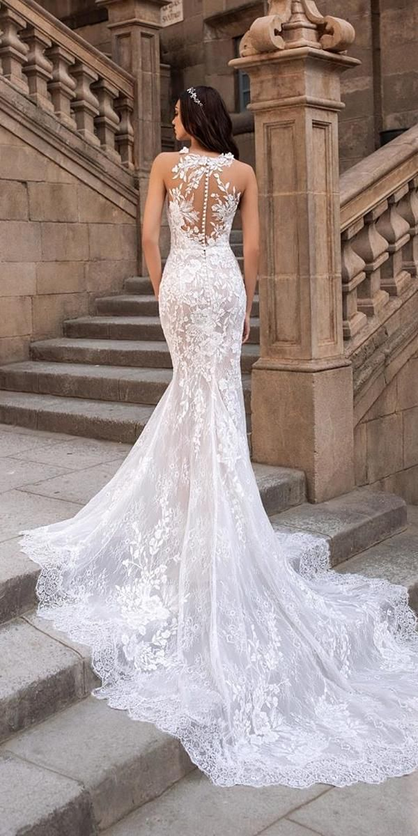 Photo of 24 Lovely Lace Back Wedding Dresses | Wedding Dresses Guide