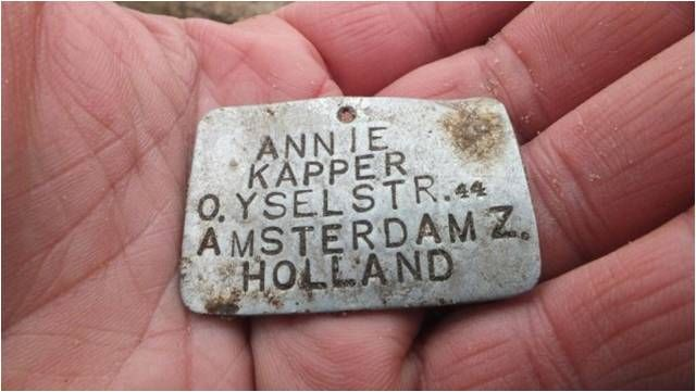 Annie Kapper Gevonden In Sobibor Gaskamers Anne Frank Kapper