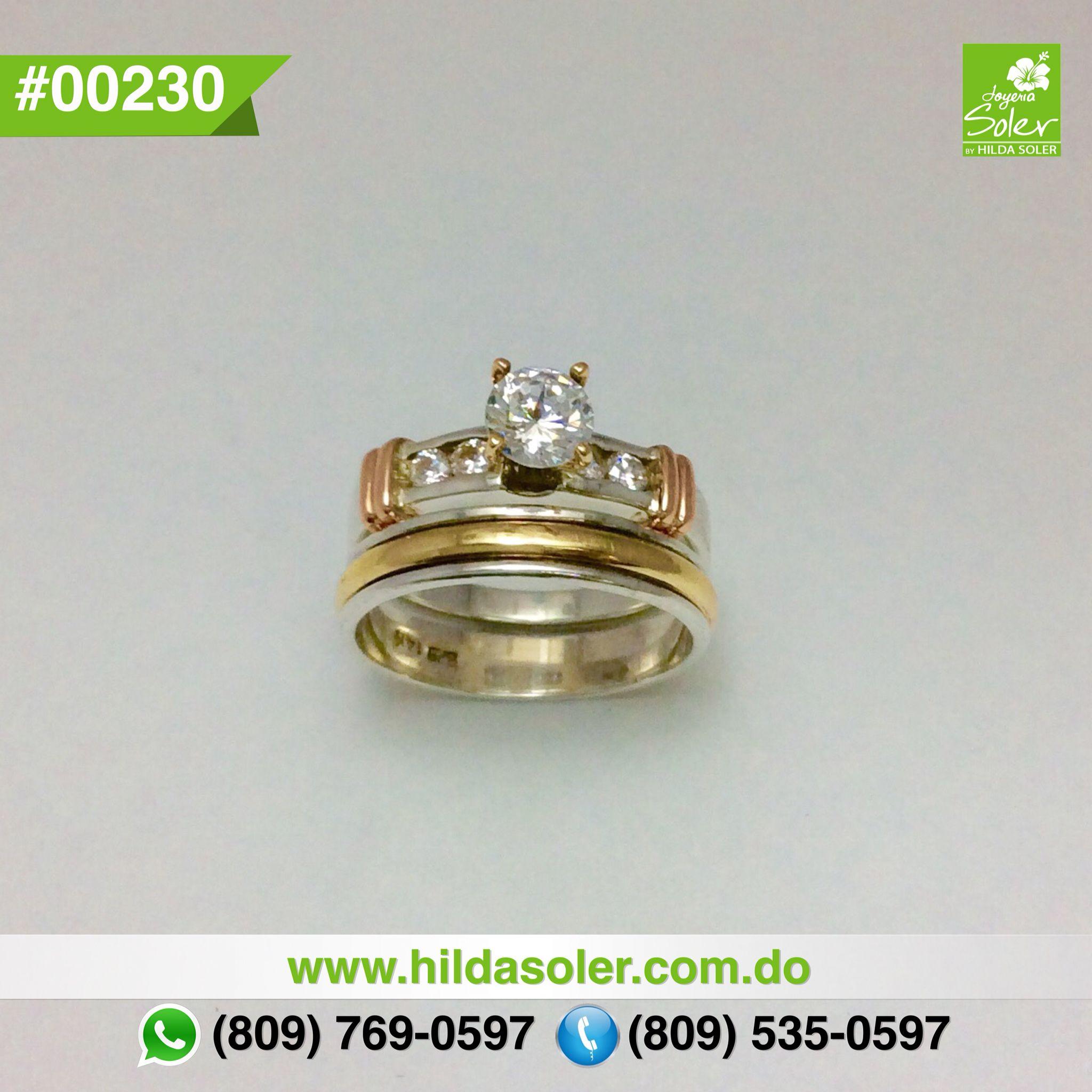c624a1ea361a3 Anillos de matrimonios en plata y oro RD  6