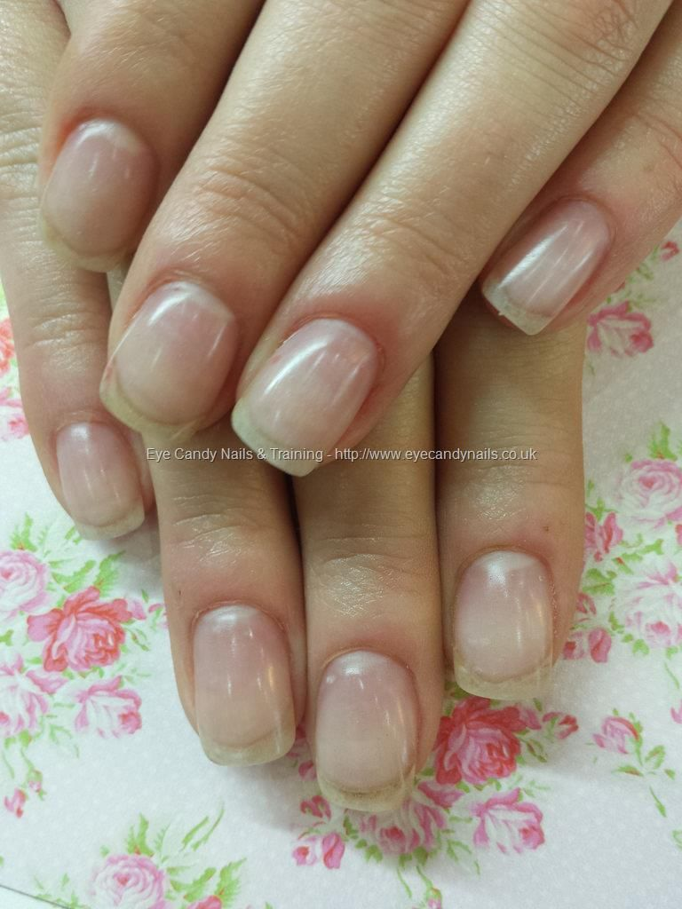 Natural nail overlays with acrylic   MY NAILS   Pinterest   Natural ...