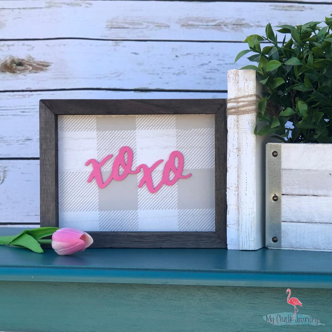 Xoxo Amp Buffalo Plaid Valentine S Sign