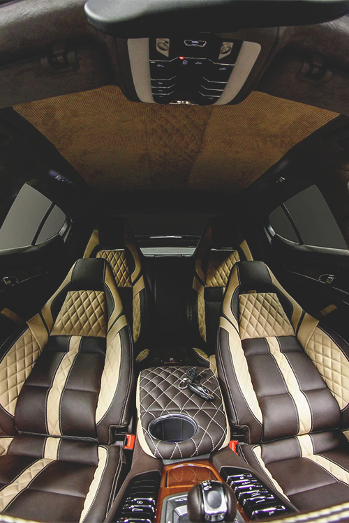 The two tone partial leather interior in black and luxor beige comes the two tone partial leather interior in black and luxor beige comes standard with the panamera platinum edition learn more httpporsche fandeluxe Choice Image