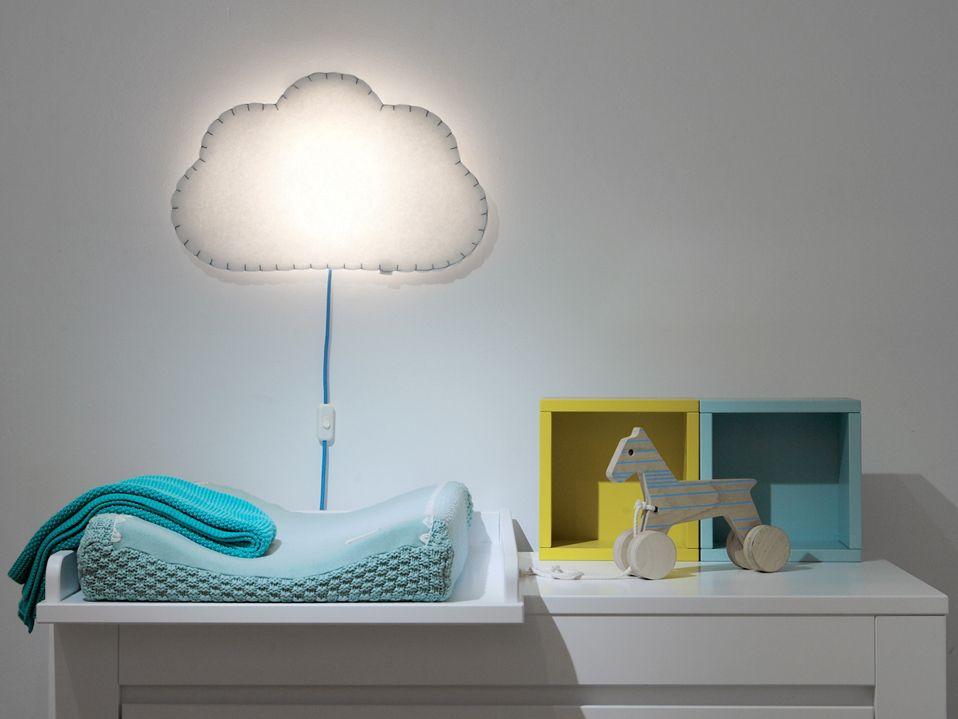 veilleuse nuage pour enfant