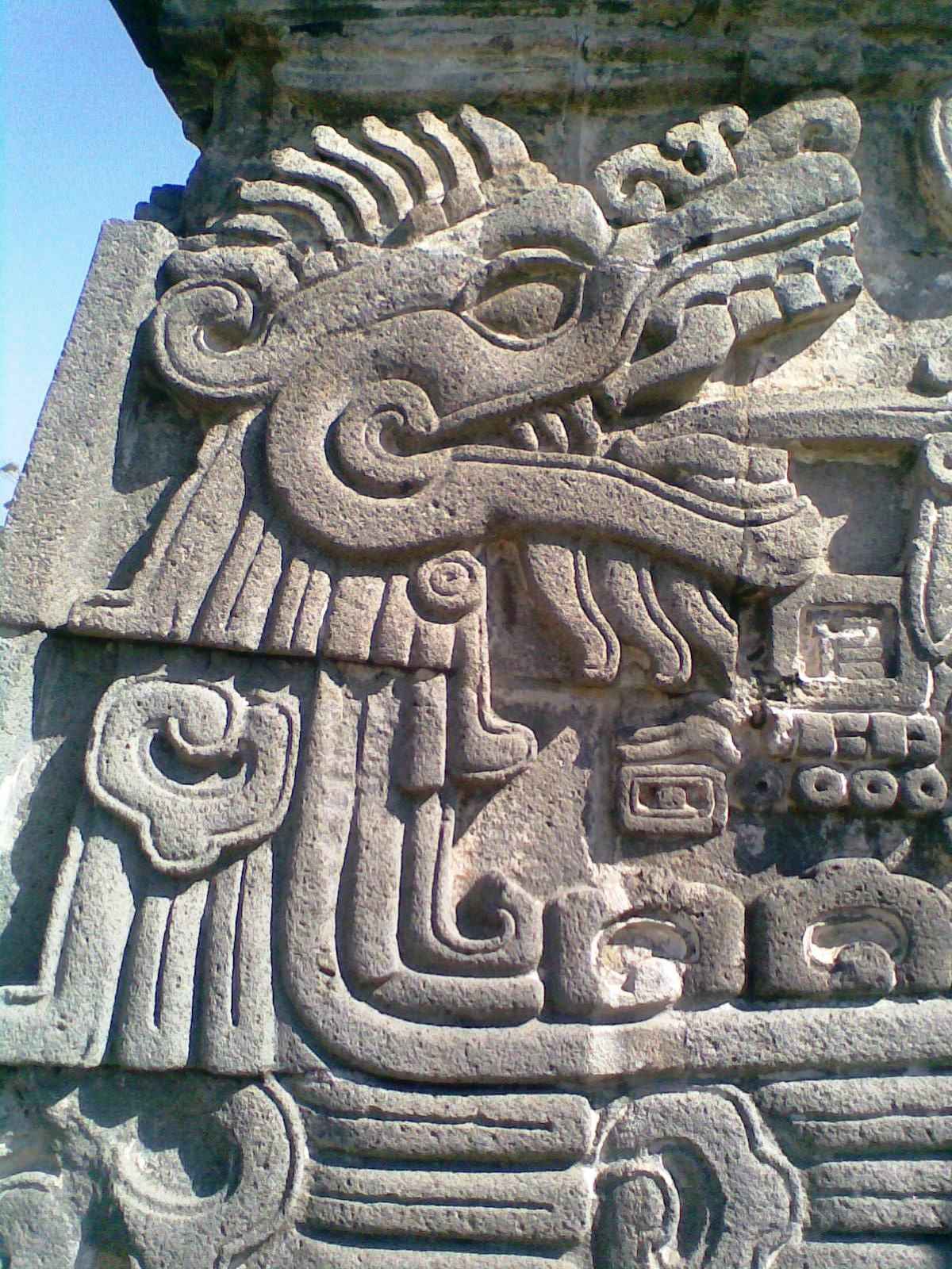 Ancient Aztec Sculptures Arts