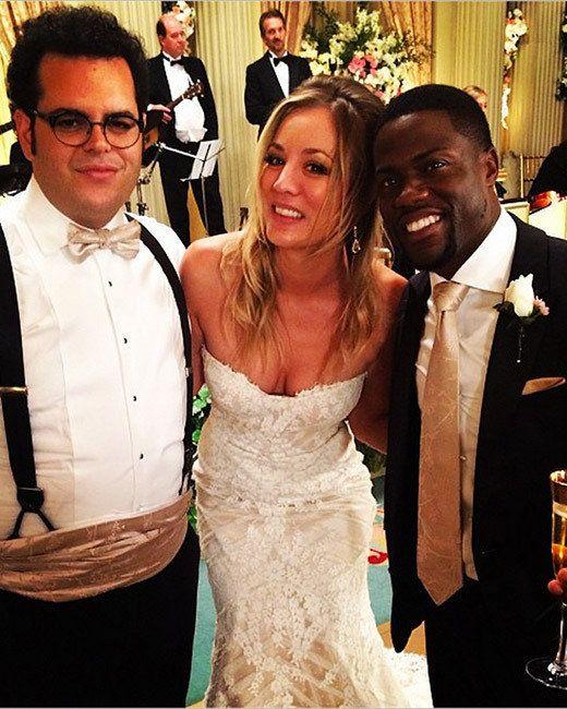 Kaley Cuoco Wears Matthew Christopher S Sofia Wedding Dress In Her Latest Film The