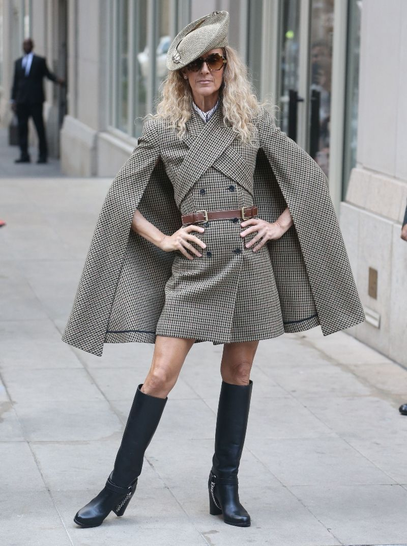 Happy Birthday Celine Dion See Her Wildest Looks Of 2020 So Far In 2020 Celine Fashion Michael Kors Clothes Wild Outfits