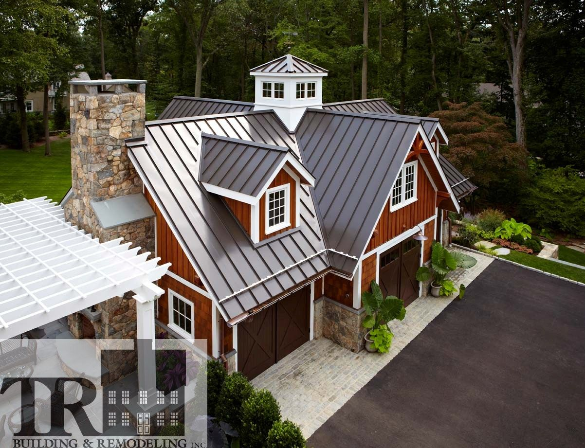 Architectural Element Standing Seam Metal Roof Building Remodeling Roof Design Garage House