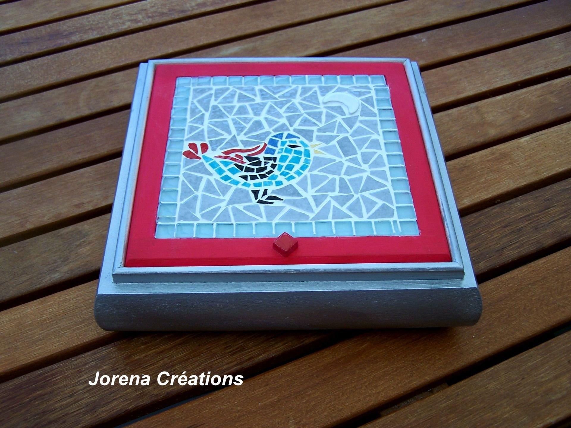 coffret bijoux bois et mosa que petit oiseau bleu oiseau bleu petits oiseaux et coffret. Black Bedroom Furniture Sets. Home Design Ideas