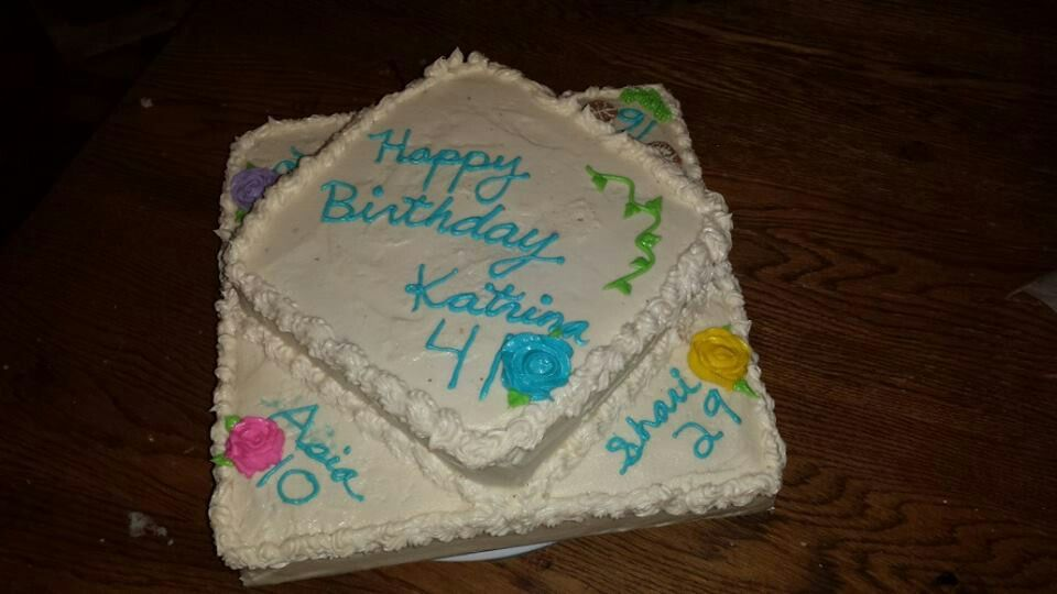 Multiple Birthday Cake