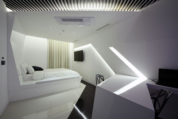Le d constructivisme en design int rieur comment le faire for Decoration interieur chambre hotel