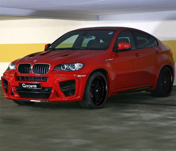 5. BMW X6 G-Power Typhoon S $440,000