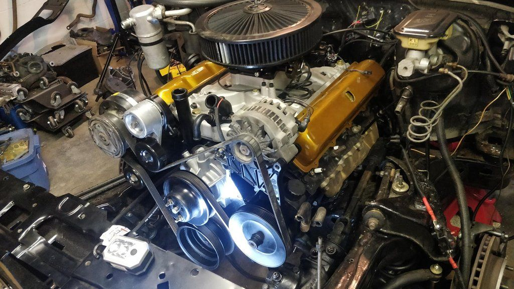 Converting Your Oldsmobile 455 425 403 350 307 To A Later Model Gm Serpentine Setup For Less Than 600 00 Oldsmobile Gm Accessories Oldsmobile 442