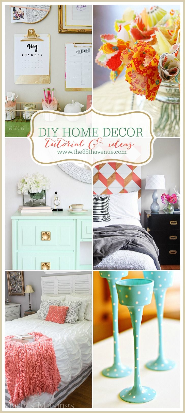 Home Decor DIY Projects | Tutorials, Hardware and Craft