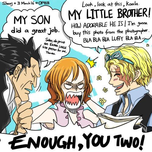 I can totally see this happening  Sabo keeps talking about