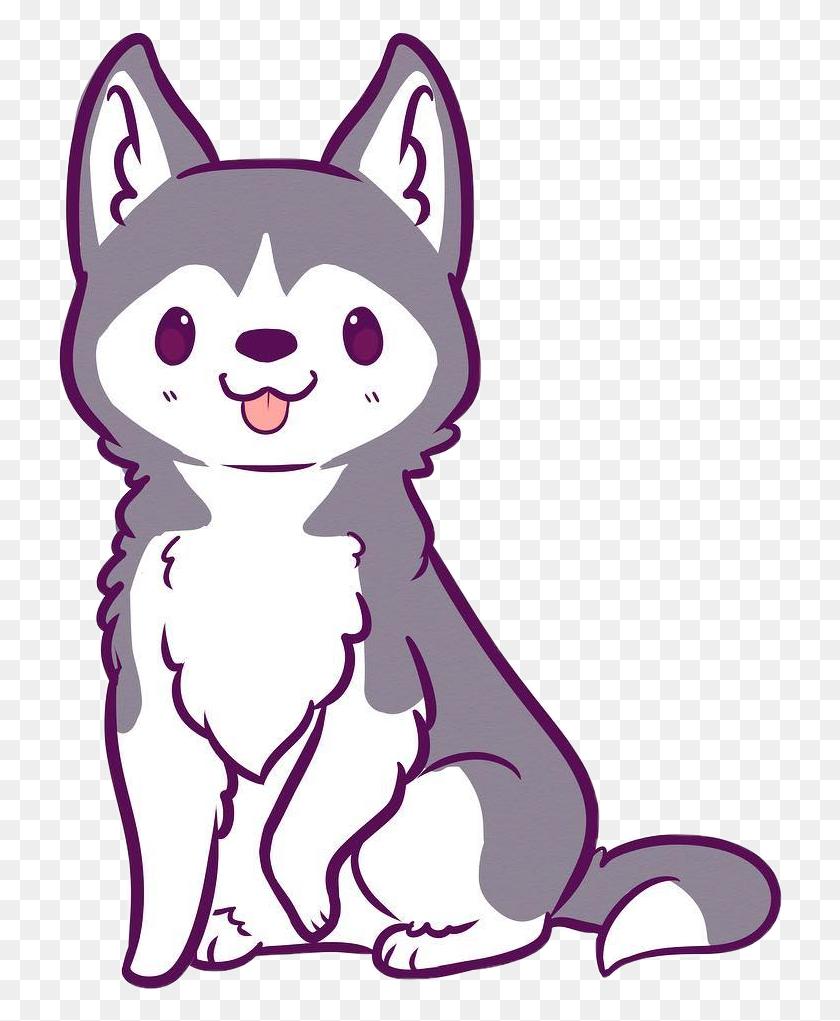 Cute Kawaii Wolf : kawaii, 728x961, Husky, Clipart, Kawaii, Animal, Drawings, Kawaii,, Cartoon, Drawings,, Animals